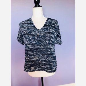 Eileen Fisher Short Dolman Sleeve Knit Sweater
